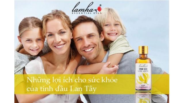 Những lợi ích cho sức khỏe của tinh dầu Lan Tây