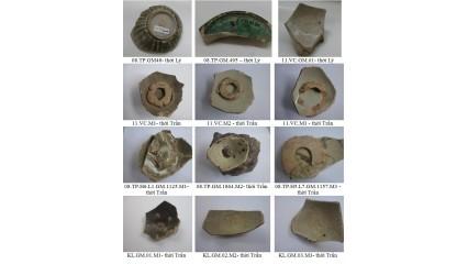 Kết quả nghiên cứu gốm mem thời Lý, Trần khai quật tại địa điểm Văn cao, Trần Phú, Kim Lan