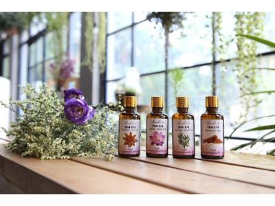 Bộ 4 lọ tinh dầu tắm ấm và chống cảm lạnh quế, tràm, hoa hồi, hoa sen