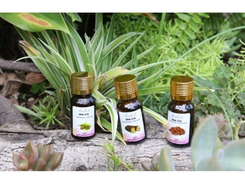 Bộ tinh dầu dùng cho các bài tập thiền & yoga trầm hương, đàn hương, ngọc am