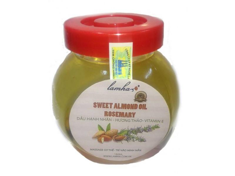 Dầu hạnh nhân- hương thảo- Vitamin E
