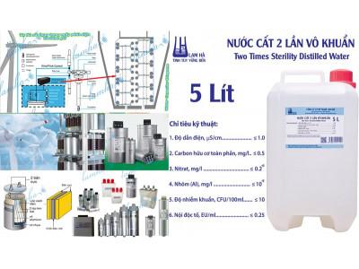 Nước cất chất điện môi  tụ bù công suất máy phát điện