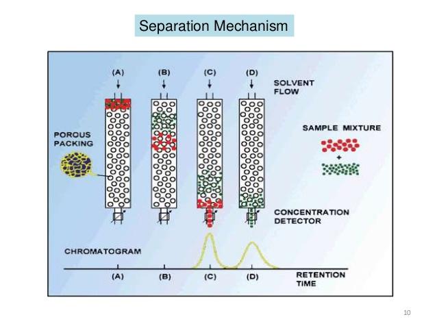 HPLC Sắc ký rây phân tử Gel Permeation chromatography