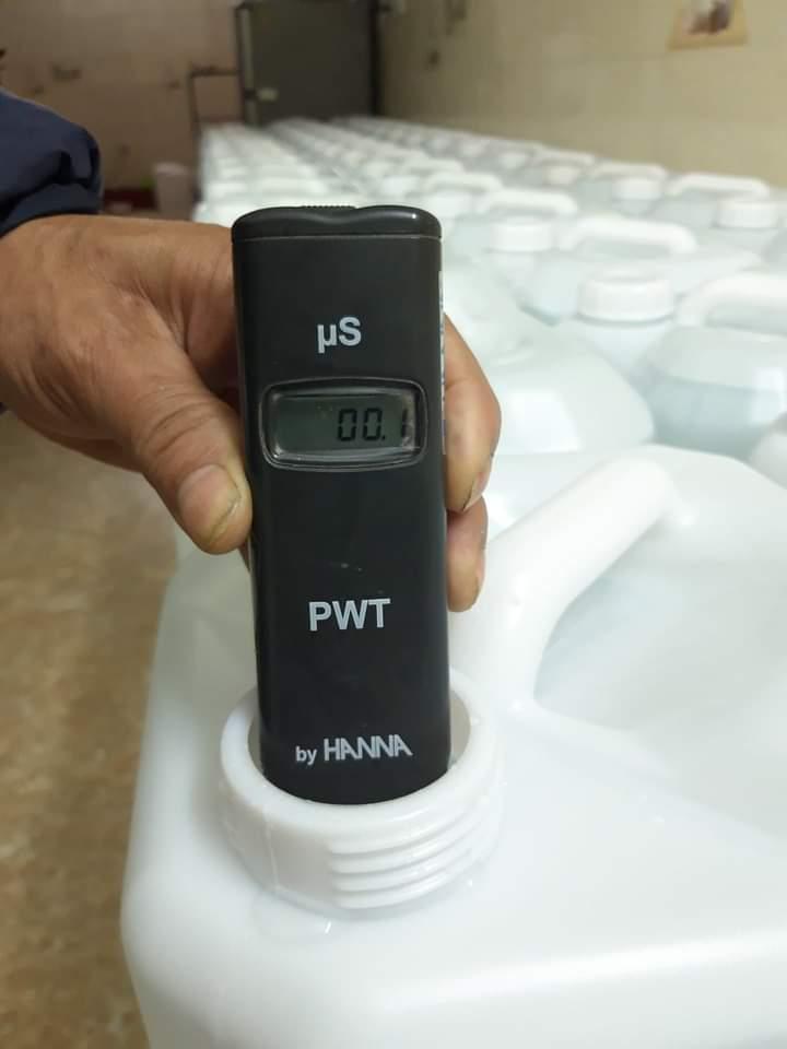 chỉ số TDS nước cất 2 lần