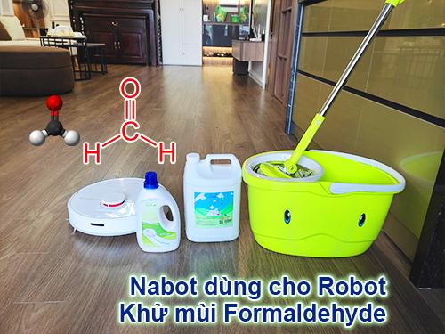 Nước lau sàn cho Rotbot khử mùi
