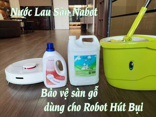 Nước lau sàn Nabot cho Robot