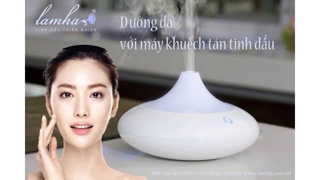 Chăm sóc da với máy khuếch tán tinh dầu