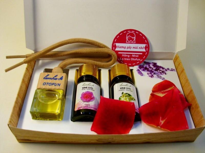 Bộ tinh dầu quà tặng Hương gây mùi nhớ