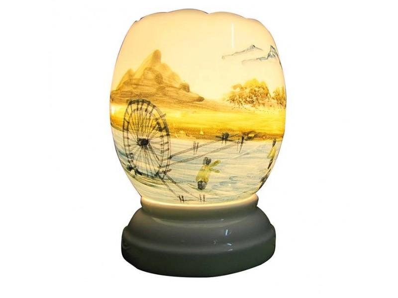 Đèn guồng nước