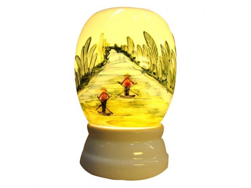 Đèn xông rừng dừa nước