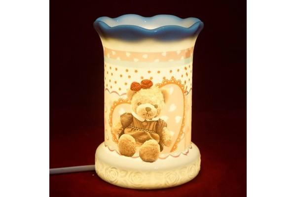 Đèn xông tinh dầu hình gấu misa