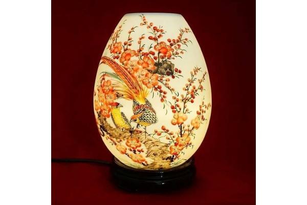 Đèn xông tinh dầu chim trĩ cỡ lớn