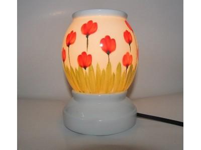 Đèn xông tinh dầu hình hoa Tulip